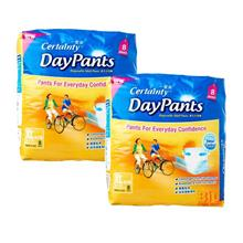 Certainty Daypants Adult Diapers Pants XL 8s X 2packs