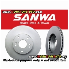 Sanwa Japan Toyota Camry 2007 ACV40 ACV41 Right Hand Rear Brake Disc R