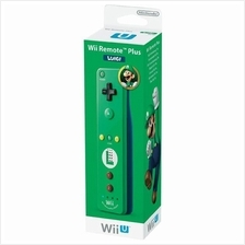 Wii remote Controller Built-in Motion Plus Luigi Limited Edition-Origi)