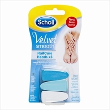 Scholl Velvet Smooth Nail Care Refill Heads 3s