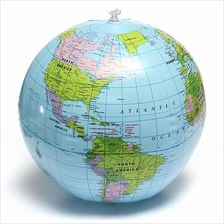 World globe price harga in malaysia lelong inflate inflatable earth tellurion world globe map pool beach ball geo gumiabroncs Gallery