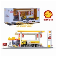 Shell Service Station 1:64 Alloy Playset @ collection