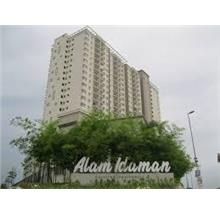 FOR RENT: ALAM IDAMAN CONDO 2R2B & 2 CAR PARK UNIT AT BATU 3 SHAH ALAM