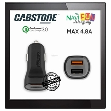 ★ CABSTONE Quick Charge 3.0 2-Port USB Car Charger 4.8A Max