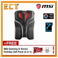 MSI VR ONE 7RE-070 Backpack PC (i7-7820HK 3.90Ghz,512GB SSD,16GB,GTX10