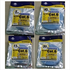 Cat 6 Flat Ethernet LAN Cable 0.5m, 1m, 2m,3m,5m,8m, 10m,15m, 20m, 30m