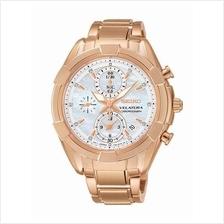 SEIKO Velatura Chronograph Quartz SNDW10P1 SNDW10 Ladies Watch