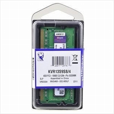 Kingston Laptop Sodimm 4GB DDR3 RAM 1333MHz PC3-10600 ~ KVR13S9S8/4