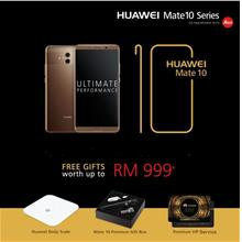 Huawei Mate 10 with Premium free gift)