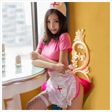 A194 SEXY PINK NUSE DRESS (Cosplay Uniform) Sexy Lingerie