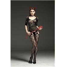 7110 RIMES SEXY BODY STOCKING CATSUIT - Sexy Lingerie