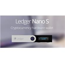 Ledger Nano S Cryptocurrency Bitcoin/Ethereum/Altcoins Hardware Wallet