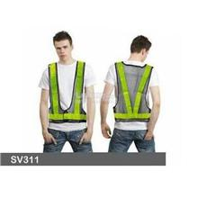 Niceman V-shape High Reflective Safety Vest with Netting