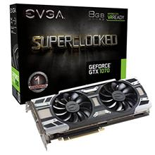 EVGA GeForce GTX 1070 SC GAMING ACX 3.0, 8GB GDDR5, LED, DX12 OSD Supp)