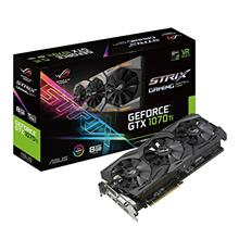 ASUS ROG Strix GeForce GTX 1070 Ti 8GB GDDR5 VR Ready DP HDMI DVI Gami)