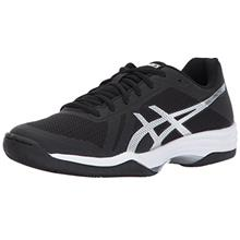ASICS Womens Gel-Tactic 2 Volleyball Shoe, Black/Silver/White, 8.5 Med