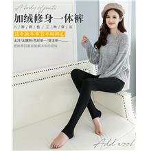 Thick Cashmere Pearl Velvet Keep Warm Long Pants