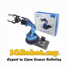 6 DoF Robot Arm DIY Set ,Robotics Hand Gripper Arduino Learning RC Kit