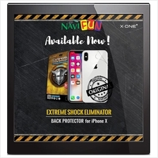 ★ X-One® Extreme Back Glass Protector iPhone 8 / 8 Plus / X