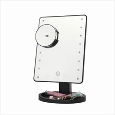 LED Touch Screen Makeup Mirror 10 X Magnifying Mirror
