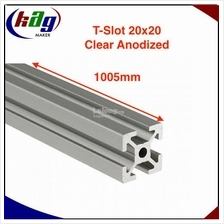 1005mm Aluminium Profile T-Slot 20mm x 20mm