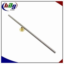 Trapezoidal Lead Screw OD=8mm Lead=8mm Pitch=2mm With Copper Nut