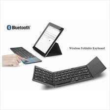 Ultra Light Mini Bluetooth Pocket Folding Keyboard Touchpad Tablet