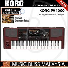 Korg Pa1000 61-key Professional Arranger with 0% Instalment (Pa-1000): Best  Price in Malaysia