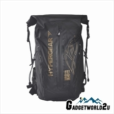 Hypergear Back Pack Dry Pac Pro Gold 30 Liter - Black