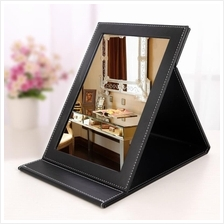 Portable Folding Leather Mirror XXL