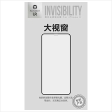 APPLE IPHONE X XS FULL COVER INVISIBLE UR AUTOBOT Tempered Glass