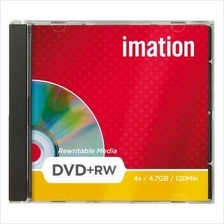 IMATION DVD+RW MEDIA DISC 10PCS PACK WITH CASE