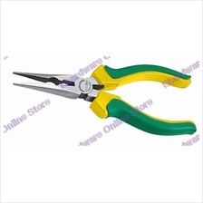 WYNNS LONG NOSE PLIERS WITH SERRATED GRIPPING HOLE 150MM (TP105L)