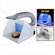 Portable Airbrush Spray Booth Extractor With LED Light (ASB420L)