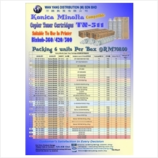 KONICA MINOLTA TN-511 Compatible MONO Copier Toner Cartridge