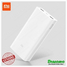 Xiaomi Power Bank 2C 20000 mAH QC Quick Charge 3.0 Dual USB (White)