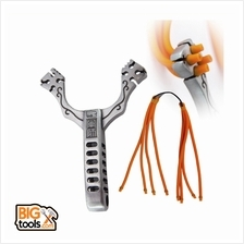 Outdoor Hunting Aluminum Alloy Sling Shot Catapult Camouflage Bow Last