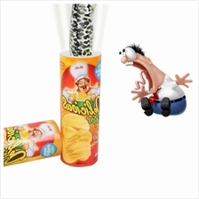 Potato Chip Jumping Fake Snake Magic Prop Hot Funny Tricky Toys