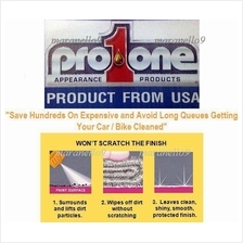 pro1one Waterless Car,Bike, Motorcycle Wash & Shine. Made in USA .Grab