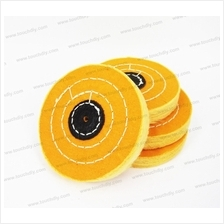 Buffing Wheel Yellow Treated (4 inch)