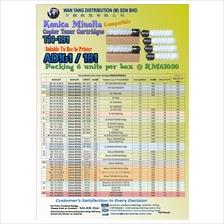 KONICA MINOLTA TN-181 Compatible MONO Copier Toner Cartridge