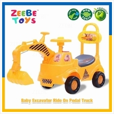 ZEEBE TOYS Children Engineer Playing Learning Ride-On Tractor