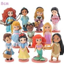 Disney Baby Princess Figures Cinderella Ariel Merida Rapunzal 11pc set