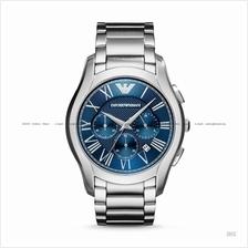 EMPORIO ARMANI AR11082 Men's Dress Watch Chronograph SS Bracelet Blue