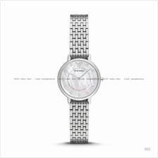 EMPORIO ARMANI AR2511 Women's Dress Watch 2-hand SS Bracelet White MOP