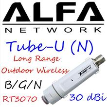Alfa Tube-U (N) Outdoor USB Wifi adaptor 9dbi