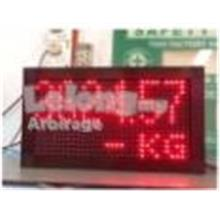 LED Remote Display For Weighbridge 1.1 地磅電&#23376..