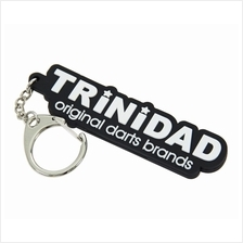 PHOENIX CLUB KEY CHAIN [TRINIDAD] BLACK X WHITE