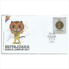MFDC-20171219 M'SIA 2017 KITA JUARA KL FIRST DAY COVER
