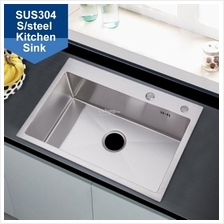 6845 Handmade 304 Stainless Steel Kitchen Sink